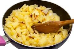 Коричневеть картошек Стоковое Фото