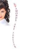 коричневое женское jewelery волос длиной делает prec сексуальное поднимающее вверх Стоковое Фото