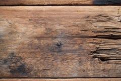 коричневое плотное строение вверх по древесине Абстрактная предпосылка, пустой шаблон Стоковые Фотографии RF
