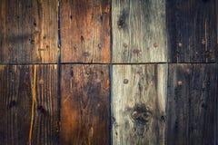 коричневое плотное строение вверх по древесине Стоковая Фотография