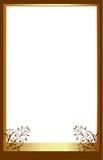 коричневое фото рамки иллюстрация вектора