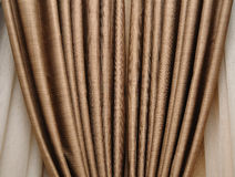 коричневое portiere Стоковое Изображение