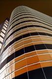 коричневое towerblock Стоковая Фотография