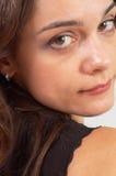 коричневые глаза Стоковые Фото