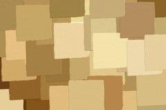 коричневые квадраты картины Стоковое фото RF