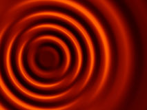коричневые концентрические тени пульсаций Стоковое Изображение