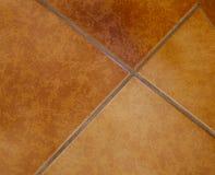 коричневые плитки пола Стоковое Изображение RF