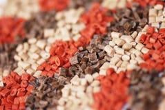 коричневые полимеры несколько Стоковые Изображения RF