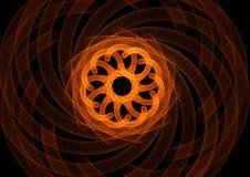 коричневые пробки фрактали Стоковое фото RF