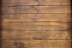 коричневые планки деревянные Стоковое Изображение RF