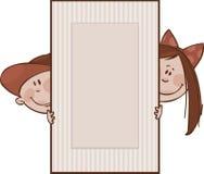 коричневые рамки Стоковые Фотографии RF