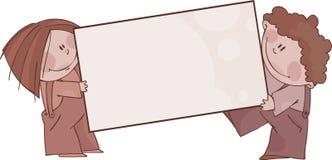 коричневые рамки Стоковое Изображение