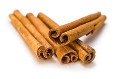коричневые ручки циннамона Стоковые Фотографии RF