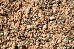 коричневые текстуры гравия Стоковое Изображение