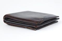 Коричневый бумажник Стоковая Фотография