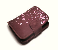 коричневый бумажник Стоковые Фотографии RF