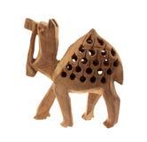 коричневый верблюд деревянный Стоковое Изображение RF