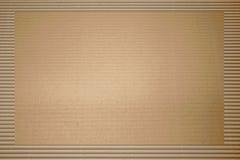 коричневый гофрированный картон Стоковые Изображения RF