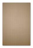 коричневый гофрированный картон Стоковые Фото