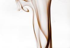 коричневый дым Стоковое Фото