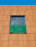 коричневый зеленый цвет фасада Стоковые Изображения RF