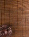 коричневый китайский чайник Стоковые Фото