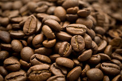 коричневый кофе крупного плана Стоковое Фото