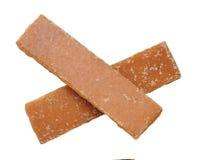 Коричневый кубический сахар 2 Стоковая Фотография RF