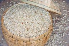 коричневый рис зерен Стоковые Изображения RF