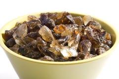 коричневый сахар бака стоковое фото