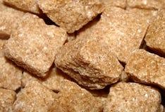 коричневый сахар кубиков Стоковые Изображения RF