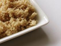 коричневый сахар света тарелки Стоковые Изображения RF