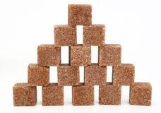 коричневый сахар частей Стоковая Фотография
