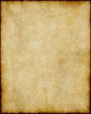 коричневый старый бумажный пергамент Стоковые Фото