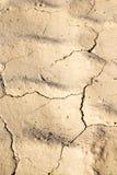 коричневый сухой песок в конспекте размывания Африки пустыни Сахары Стоковые Фото