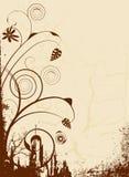 коричневый сярприз иллюстрация вектора