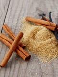 коричневый тростниковый сахар Стоковое фото RF