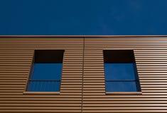 коричневый фасад Стоковое Изображение