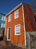 коричневый цветастый домашний siding Стоковое Изображение