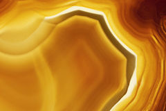 коричневый цвет агата Стоковая Фотография