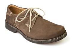 Коричневый цвет ботинка Стоковое Изображение