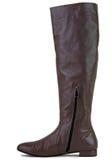 коричневый цвет ботинок Стоковая Фотография