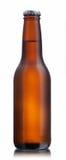 коричневый цвет бутылки пива лоснистый non Стоковые Фотографии RF