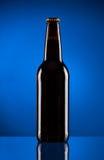 коричневый цвет бутылки пива Стоковая Фотография