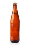коричневый цвет бутылки пива Стоковое Изображение