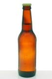 коричневый цвет бутылки пива Стоковое фото RF