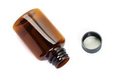 коричневый цвет бутылки Стоковая Фотография RF