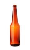 коричневый цвет бутылки пива пустой Стоковые Изображения RF