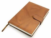 коричневый цвет книги Стоковое Фото