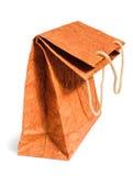 коричневый цвет мешка изогнул бумагу Стоковая Фотография RF